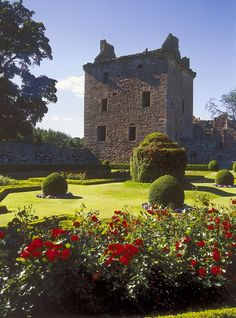 Edzell Castle  Scotland