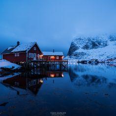 Norway Winter Cabin