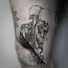 Creative anatomy by Damo