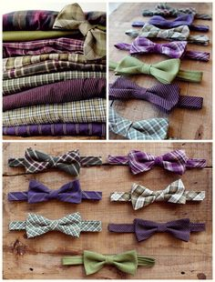 Mismatched Wedding Bow Ties - Mix and Match Bowties - Custom Wedding Bow Ties - Groomsmen Bowties - Groomsmen Gifts - Made To Order    -    Are you
