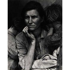 Dorothea Lange of Florence Owens Thompson