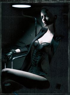 Paolo Roversi,model Eva Green