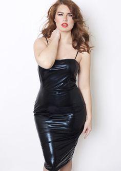 Faux Leather Dress 2R