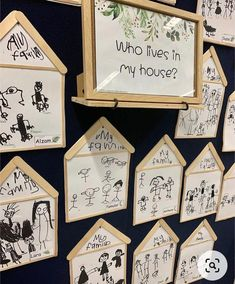 Art Activities For Kids, Family Activities, All About Me Crafts, Kindergarten, Beginning Of Year, Preschool Crafts, Arts And Crafts, Art Crafts, Gallery Wall