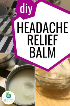 Simple DIY headache relief balm recipe with essential oils to help you make your own homemade natural headache remedy. This headache balm is so easy to make. Natural Headache Remedies, Natural Health Remedies, Herbal Remedies, Health And Fitness Tips, Health Site, Good Health Tips, Health Advice, Headache Relief, Aromatherapy