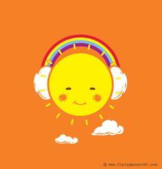 Rainbow Song by Chow Hon Lam, via Behance