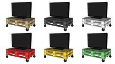 Come costruire un mobile per la tv con i pallet! Video tutorial fai da te, ricicla vecchi bancali in modo creativo