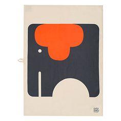 Buy Orla Kiely Elephant Tea Towels, Set of 2 Online at johnlewis.com