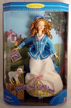 1999 Barbie Had a Little Lamb