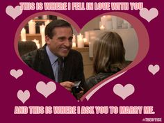 the office valentine's day cast