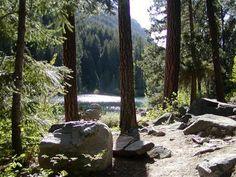 Hidden Lake, near Lake Wenatchee state park