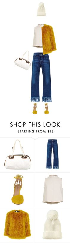"""""""Weird Winter"""" by bynikilips ❤ liked on Polyvore featuring moda, Chanel, 3x1, Ulla Johnson, TIBI, Topshop i Uniqlo"""