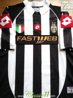 Relive Juventus  2002 2003 season with this vintage Lotto home football  shirt. Футбольные e7d984180