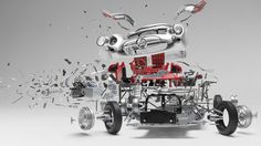 Exploding Gullwing