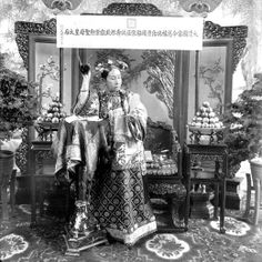 """History can be a slippery substance, particularly when it comes to personalities. A century after the death of China's last and most famous empress, Cixi, the story of her life and reign remains veiled by varying versions of the truth."" Discover more about the empress at Smithsonian.com (Photo: Freer Gallery of Art and Arthur M. Sackler Gallery Archives)"