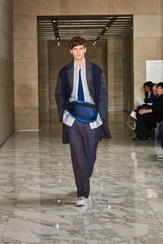 Perry Ellis Fall 2018 Menswear Fashion Show Collection