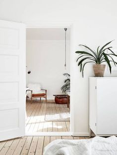 10 Things that Every Bedroom Needs: # 9 Greenery Bring in a potted plant (big or small!) to impart the bedroom with an organic color contrast and detail. A single plant can do wonders for a space, especially if it skews towards to the smaller side.