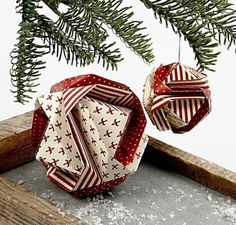 Japanische Weihnachtskugel