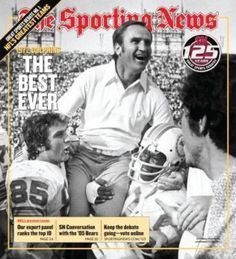 The Perfect Season - 1972 - Miami Dolphins won all games during the regular season, playoffs and Super Bowl.