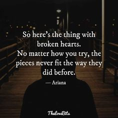50 Broken Heart Quotes to Help You Soothe the Pain - TheLoveBits