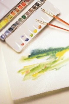 Mission! Hop into watercolors! Teaching watercolor painting to kids, 1 fun task at a time...but I am looking foward to doing it, too.