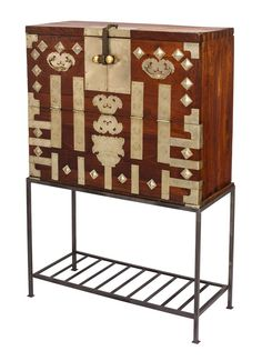 korean tansu on stand amazoncom oriental furniture korean antique style liquor
