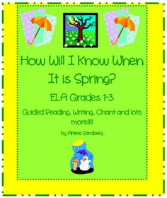 """FREE """"Spring Vocabulary Word Sort"""" - Go to http://pinterest.com/TheBestofTPT/ for this and thousands of free lessons."""