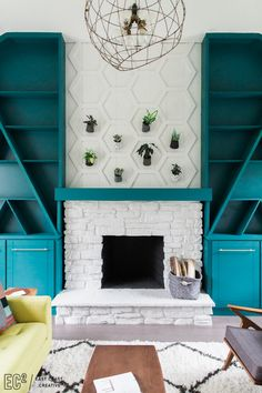 Modern Fireplace Liv
