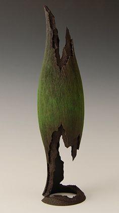 Maple wood sculpture by john goodyear
