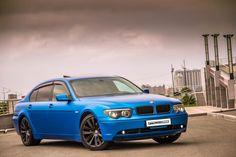 BMW 7 e65 Wrappid in Blue Matte by RE-S Vladivostok Работа наших ребят из Владивостока
