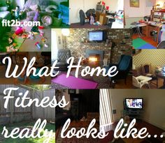 Real photos of home fitness all over the world | Fit2B Studio