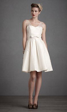 16 Non-Traditional Wedding Dresses for the Modern Bride Bride Reception Dresses, Rehearsal Dinner Dresses, Wedding Rehearsal, 50s Style Wedding Dress, Wedding Attire, Going Away Dress, Cute Dresses, Short Dresses, Traditional Wedding Dresses