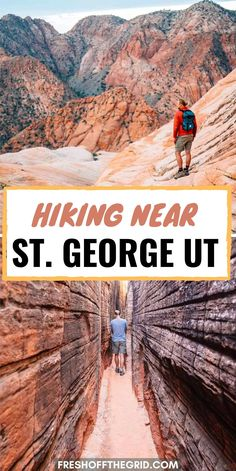 St. George in Southern Utah has a ton of hiking options - check out this list to find the best trails nearby. Hiking Places, Hiking Trails, Places To Travel, Utah Vacation, Vacation Spots, Vacation Destinations, Vacations, Snow Canyon State Park, Canyon Utah