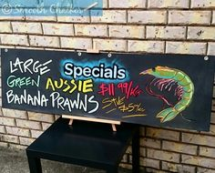 Woolworths Specials Board