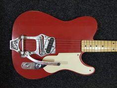 REBELRELIC HOLY GRAIL B16 DAKOTA RED-RebelRelic Vintage Style Relic Guitars
