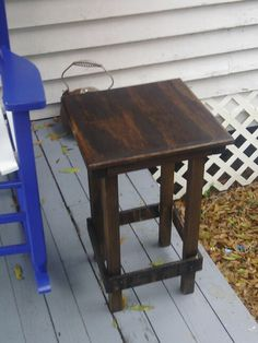 Porch table Porch Table, Ted, Woodworking, Furniture, Home Decor, Woodwork, Homemade Home Decor, Home Furnishings, Joinery