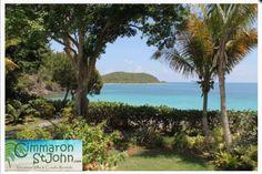 Belle Mer is a beautiful beachfront rental on St. John in the US Virgin Islands. Learn more at www.cimmaronstjohn.com #stjohn #usvi