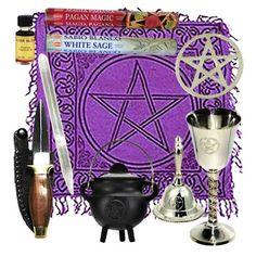 pentacle altar kit