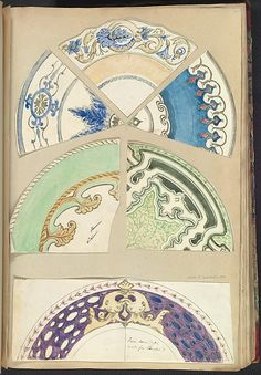 Alfred Henry Forrester [Alfred Crowquill] | Seven Designs for Decorated Plates | The Metropolitan Museum of Art