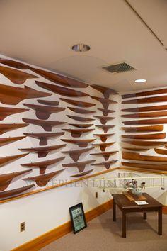 Half-hulls, Model Room, Herreshoff Marine Museum