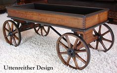 Charmant Vintage Wood Wagon Coffee Table, Glass Top Display Table, Rustic, Country,  Western, Primitive, Repurposed. Get Your FREE DIY Cheat Sheet. Uttenreitu2026