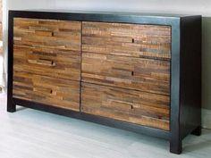 Reclaimed Peroba Wood Dresser