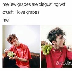 Well i love grapes. So maybe i can finish it all in 5 mins lol