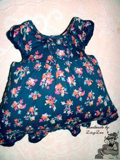 Handmade by Lissy Lou: Dress Pillow #2