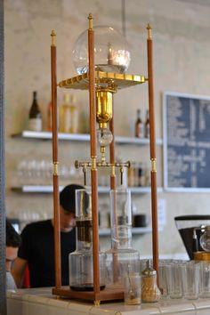 cold drip coffee | this is how the cold drip coffee is being extracted