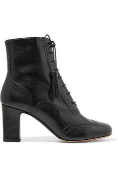 Tabitha Simmons - Afton Leather Ankle Boots - Black - IT37.5
