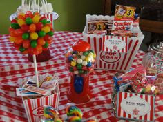 Carnival Birthday Party Ideas | Photo 10 of 12 | Catch My Party