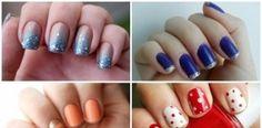 5 modelos de decoraciones de uñas fáciles de hacer