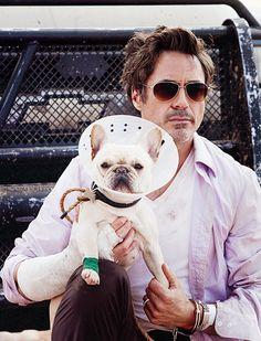 "Robert Downey Jr. as Peter Highman in ""Due Date."""