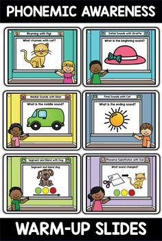 What Rhymes, Initial Sounds, Compound Words, Phonological Awareness, Beginning Sounds, Elementary Schools, Pdf, Teacher, Warm